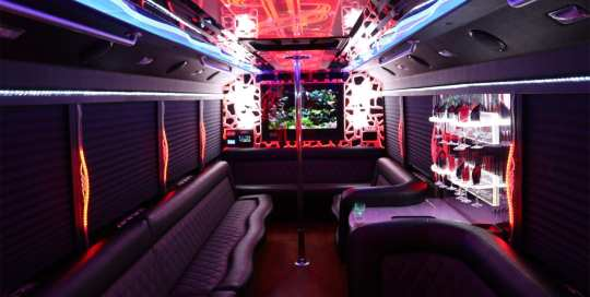 Rock Start Party Bus - Alert Transportation