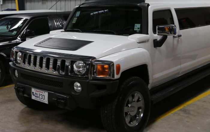 Hummer Limo - Alert Transportation