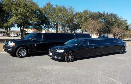 chauffeured vehicles from limousines to limo buses