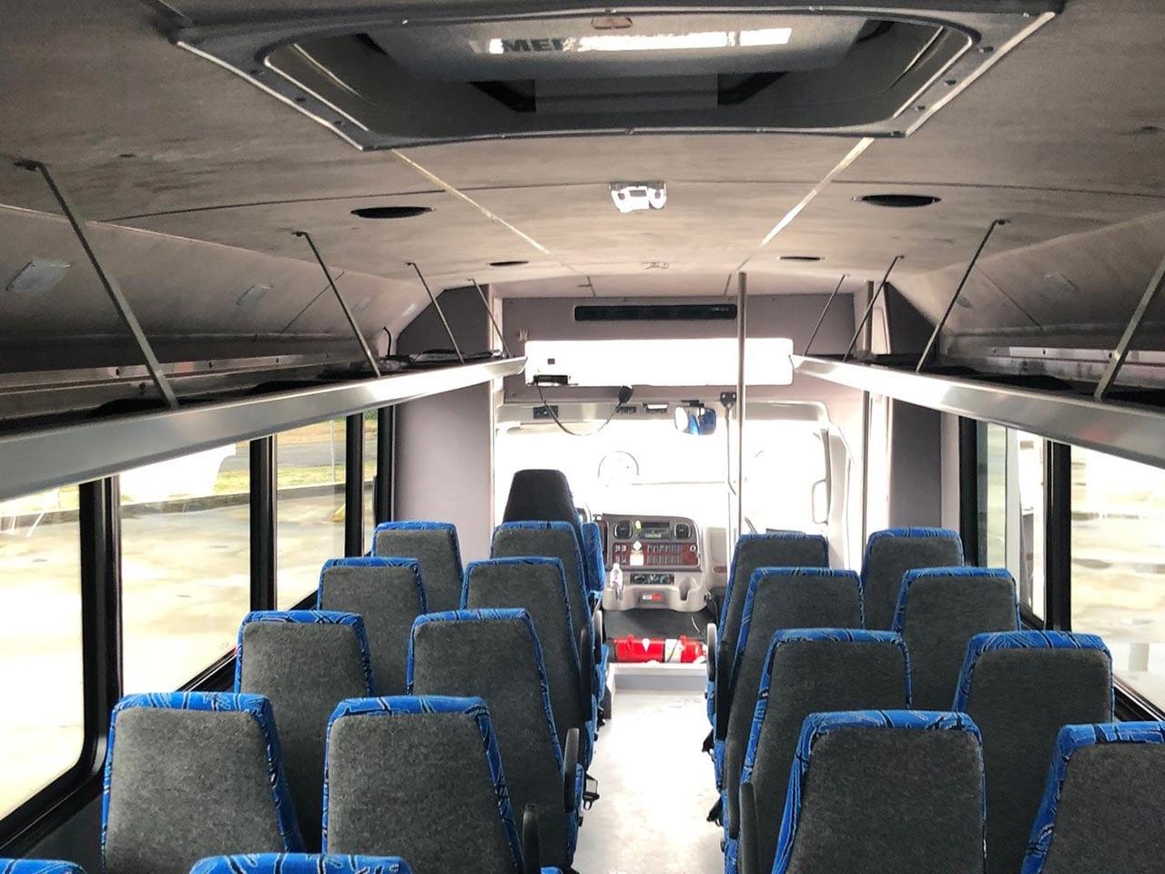 33 Passenger Minibus Seating