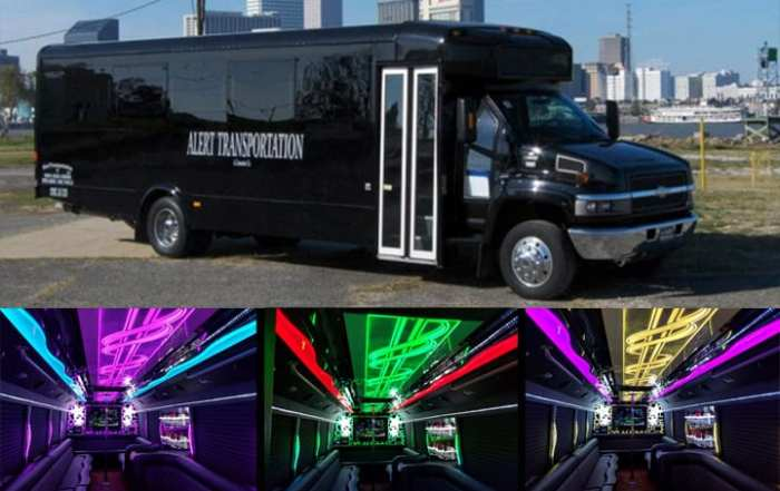 New Orleans Party Bus