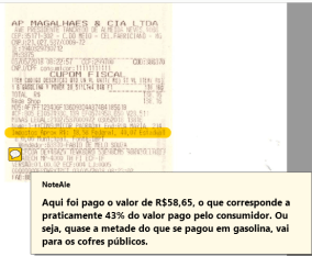 Alê Silva Gasolina impostos