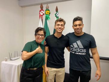 Alê Silva, Gabriel monteiro e Nikolas Ferreira