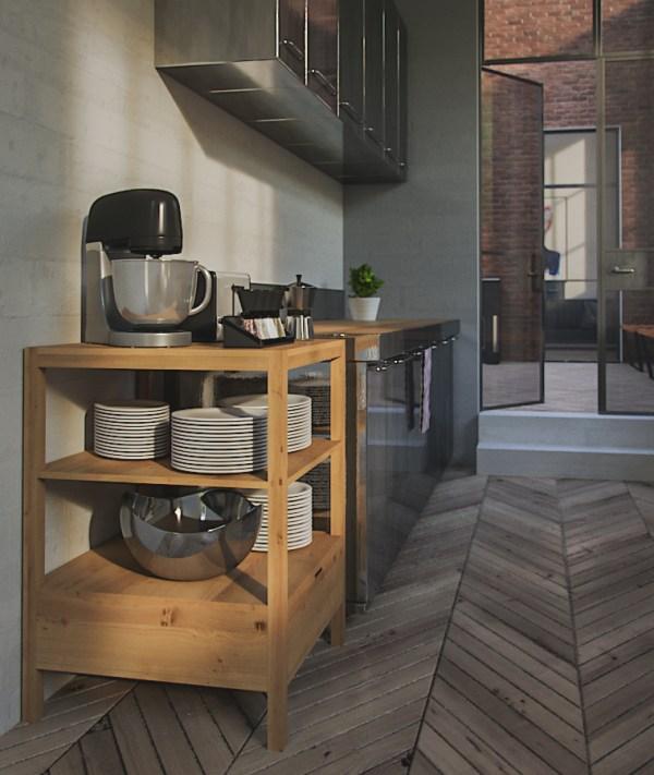 corona 3d interior kitchen free download aleso3d depth of field