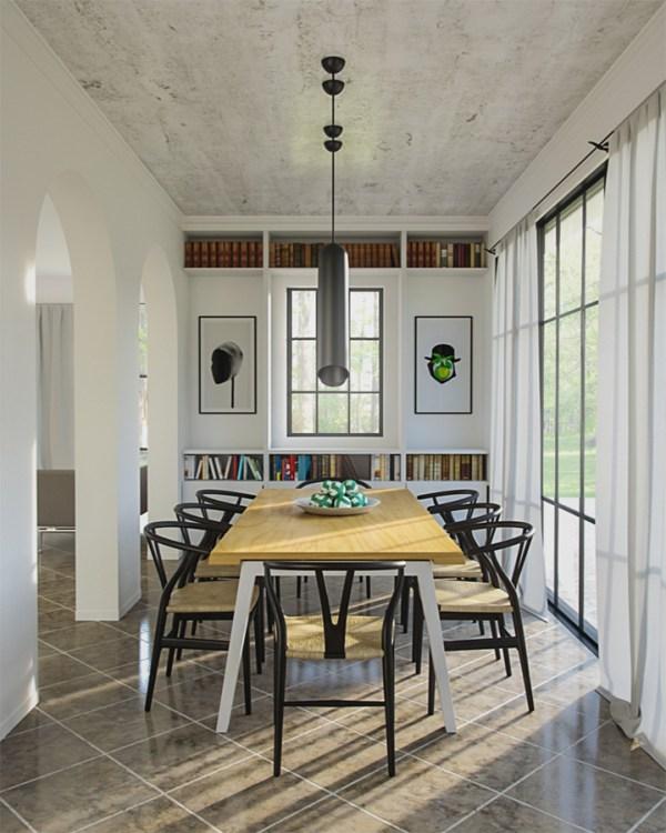 Sunny-Dining-Room-vray-interior-scene
