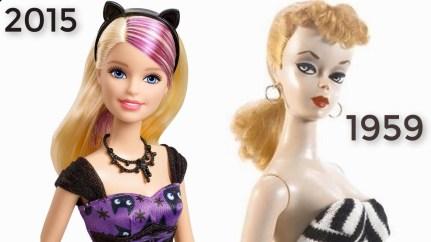 barbie-evoluzione 'secolare'