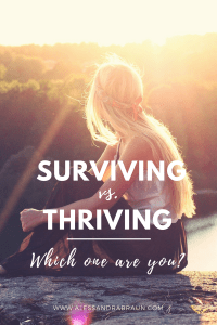 Surviving life | Thriving | Life Coach | Personal Development | Self Help | Improve relationships | Increase self esteem | Increase self confidence | Self Love