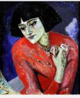 autoritratto-maria-blanchard-paintings-self-portrait-1921