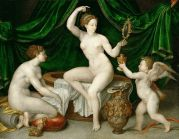 Mito Fontainebleau School - Venus at Her Toilet [c.1550]