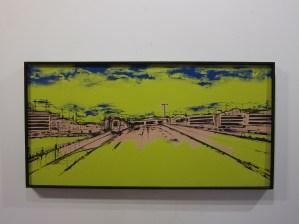 """""""Landscape"""" - Serie """"Suburban Blues"""""""