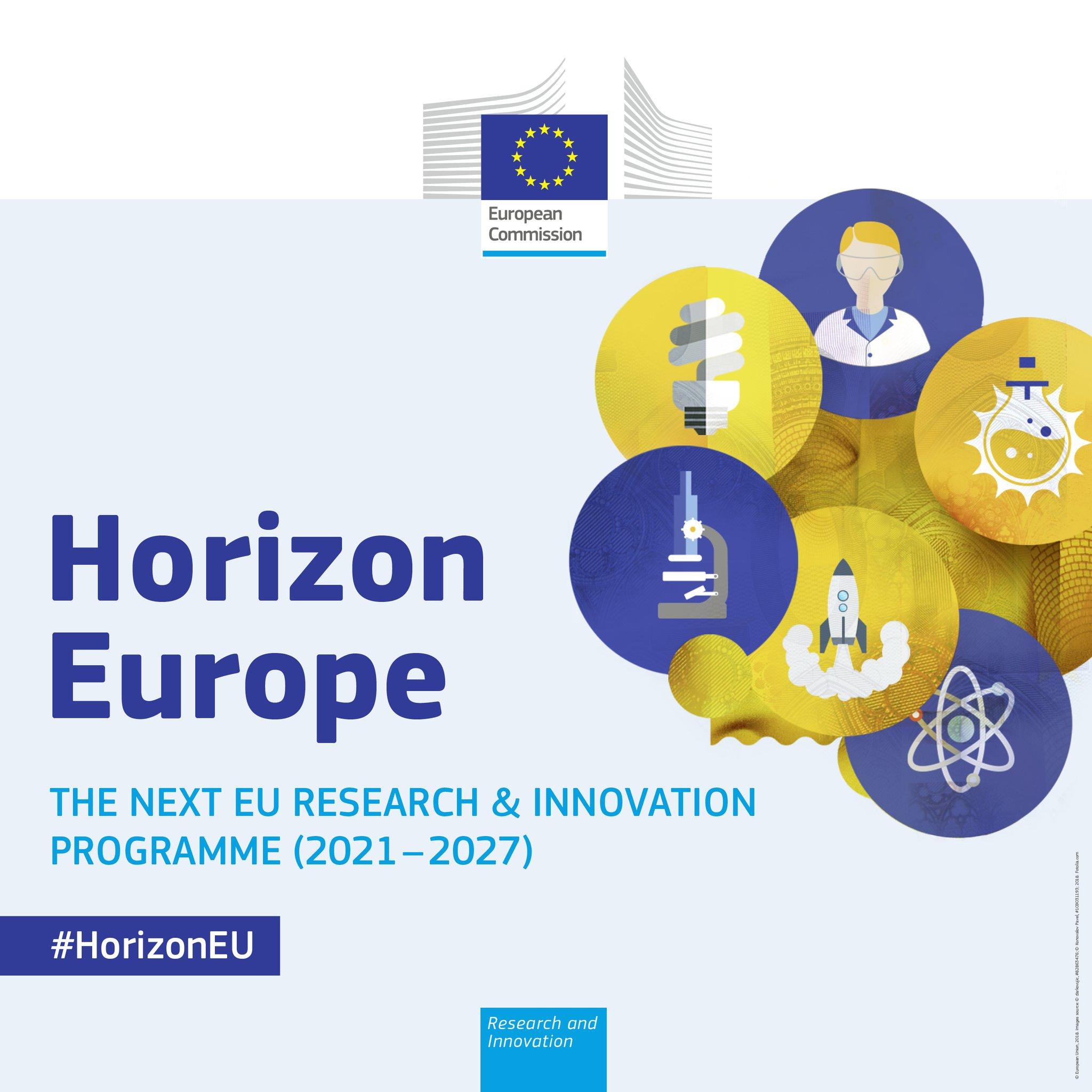 Horizon Europe: Il più grande programma per la ricerca e l'innovazione con un budget da €100 miliardi