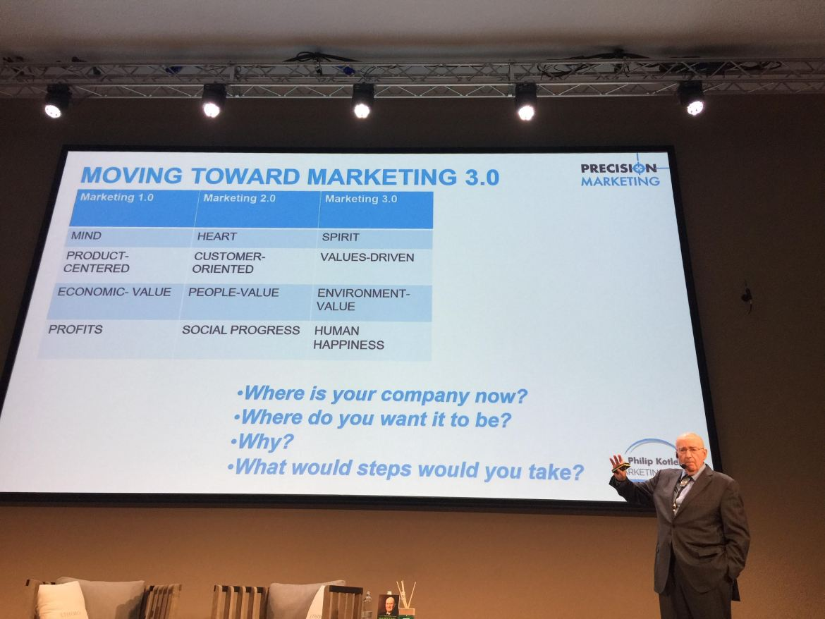 Philip Kotler Marketing Forum a Bologna