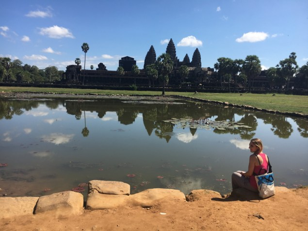 Riflessi all'Angkor Wat - Cambogia