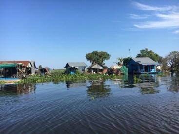 Villaggio galleggiante - Cambogia