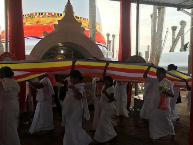Bandiera del buddhismo - Sri Lanka