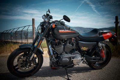 Moto Harley Devidson- Fotografo de motos en Madrid