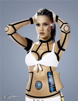 Cyborg Jessica Alba