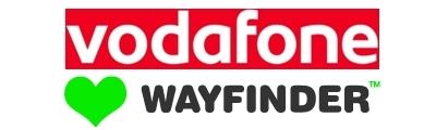 vodafone wayfinder