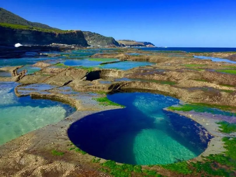 Cosa vedere road trip New South Wales, 8 Pools, Burning Palms Beach