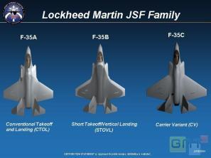 jsf-f-35-varianti