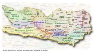 Regionen-Uebersicht