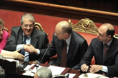 Senato della Repubblica, voto di fiducia al nuovo governo