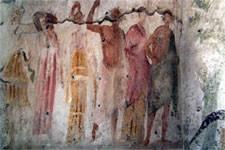 Gli affreschi storici. Pozzuoli