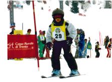 Adorava sciare