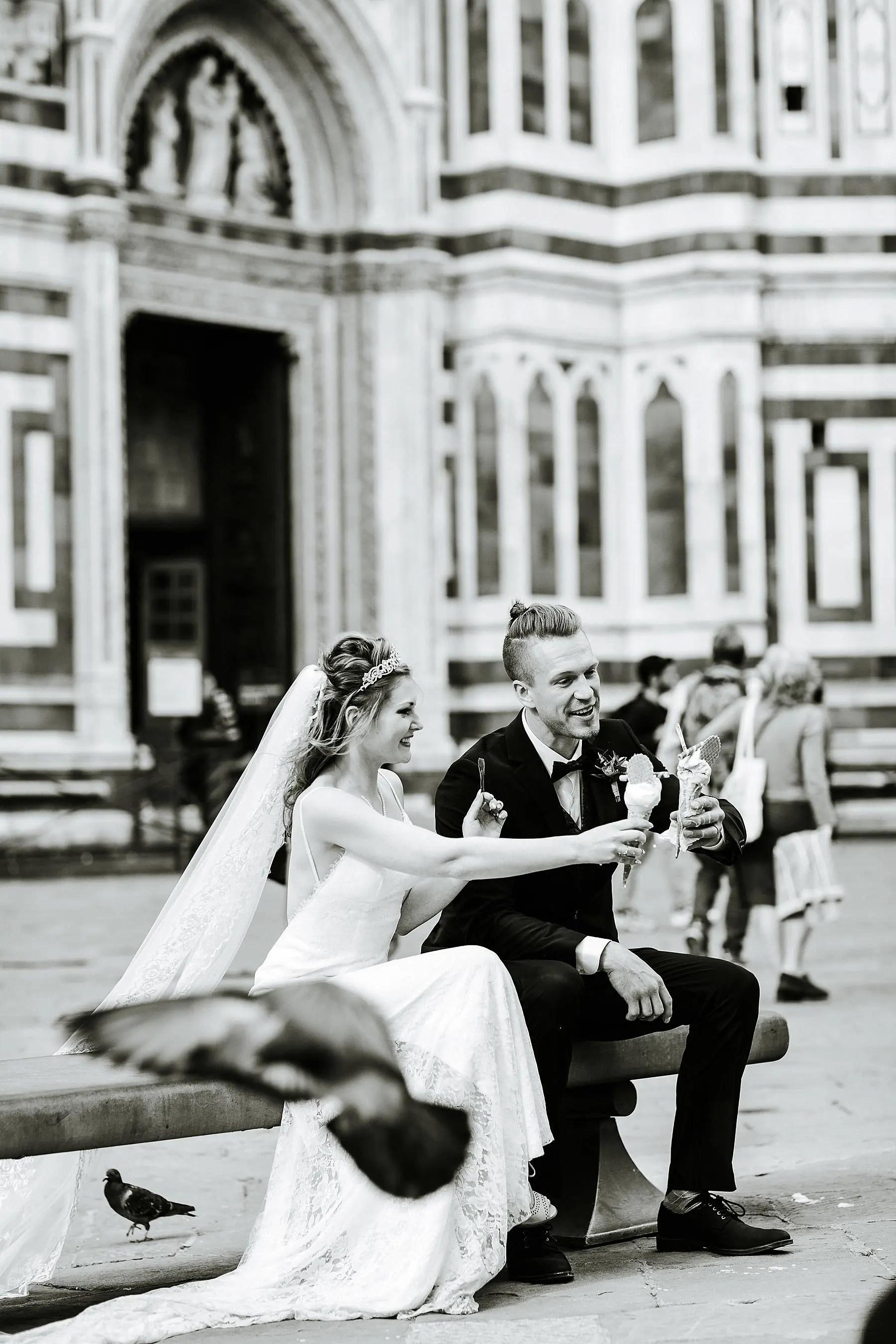 Bride Sara and her Groom Timothy