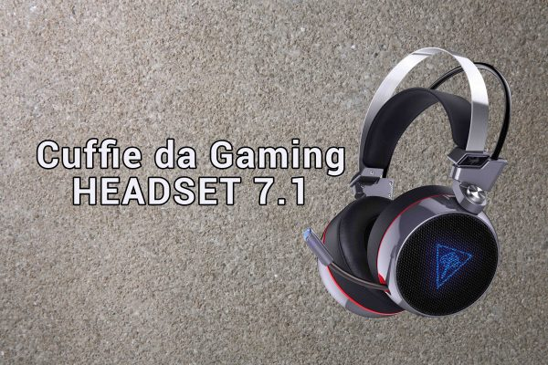 AUKEY Cuffie Headset 7.1 Gaming