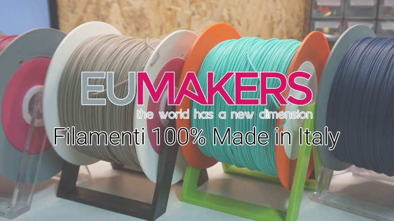Recensione filamenti EUMAKERS, 100% Made in Italy