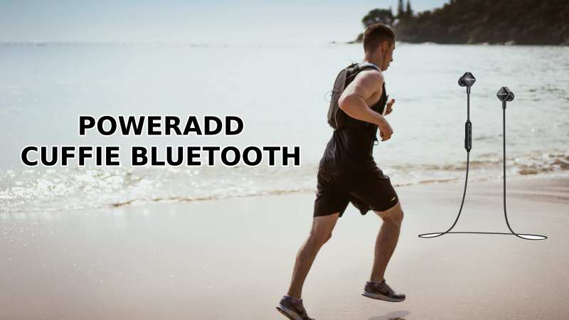 POWERADD Cuffie Bluetooth