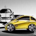 Paoletti automotive car design hand digital sketching concept sparetime