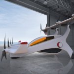 Alessio Paoletti developed for Neoptera Ltd the design of a unique winged Vertical Take-Off and Landing (VTOL) civil light aircraft.