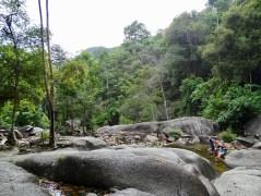Wasserfälle Geoforest Park Langkawi