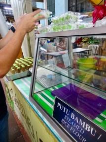 Putu Bambu Süßigkeit Central Market KL