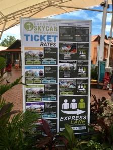 Ticket Rates Langkawi Skycab Ales Consulting International Tipps Auslandspraktikum