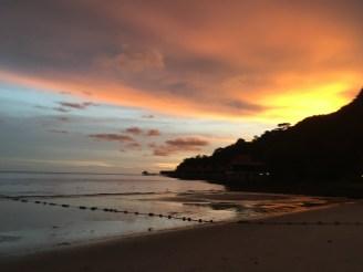 Sonnenuntergang Insel Feeling Malaysia