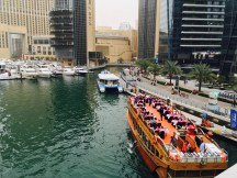 Marina Dubai Dinner im Boot
