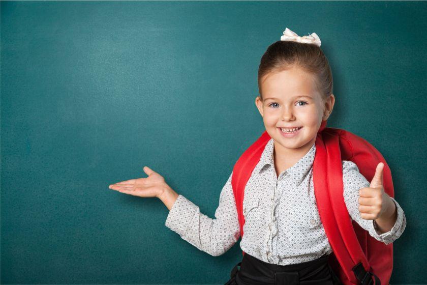 School kid, first, uniform.