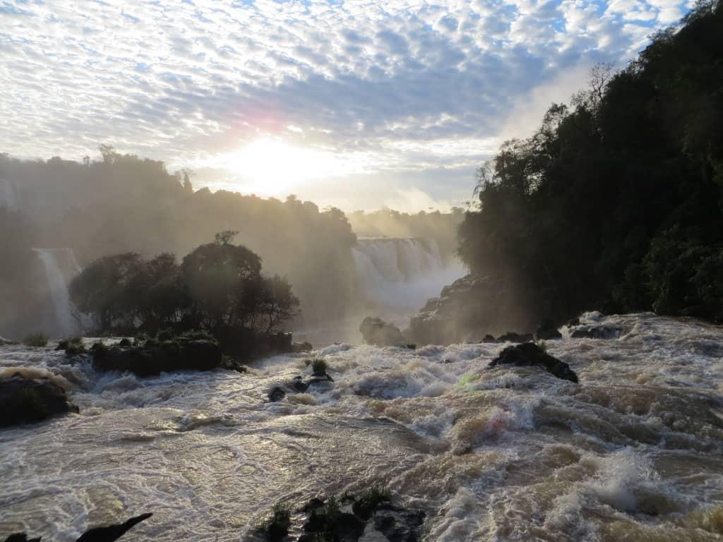 Iguazú, entre Brasil y Argentina