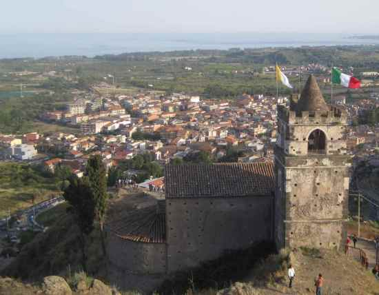 Castillo de Calatabiano, Sicilia