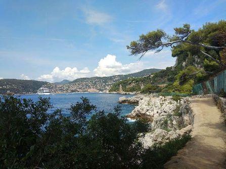 Sentier du Littoral en Cap Ferrat