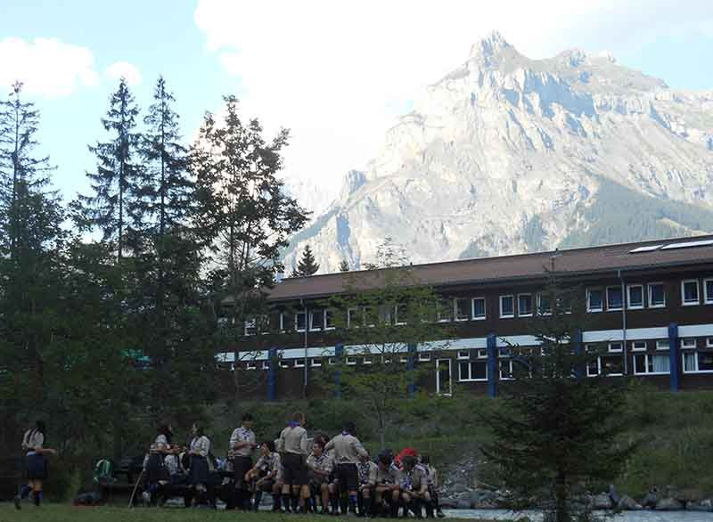 International Scout Centre, Kandersteg, Suiza