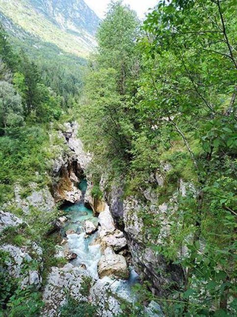 Río Soča, Eslovenia