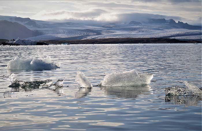 Glaciar Vatnajökulll, Islandia