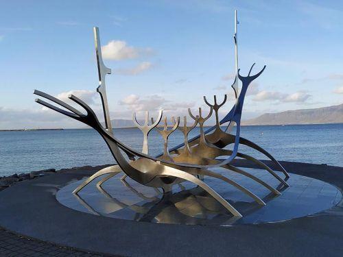 Sólfar, el Viajero del Sol, Reikiavik