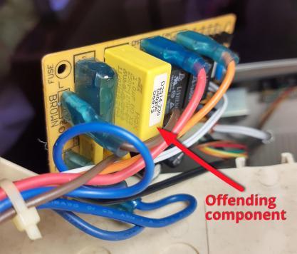 Dehumidifier-control-board