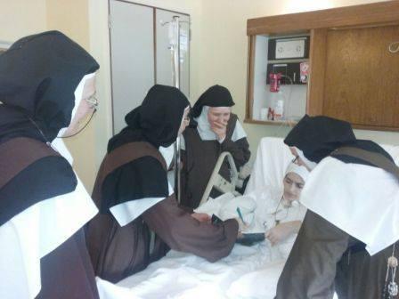 sr christina writing to her sisters