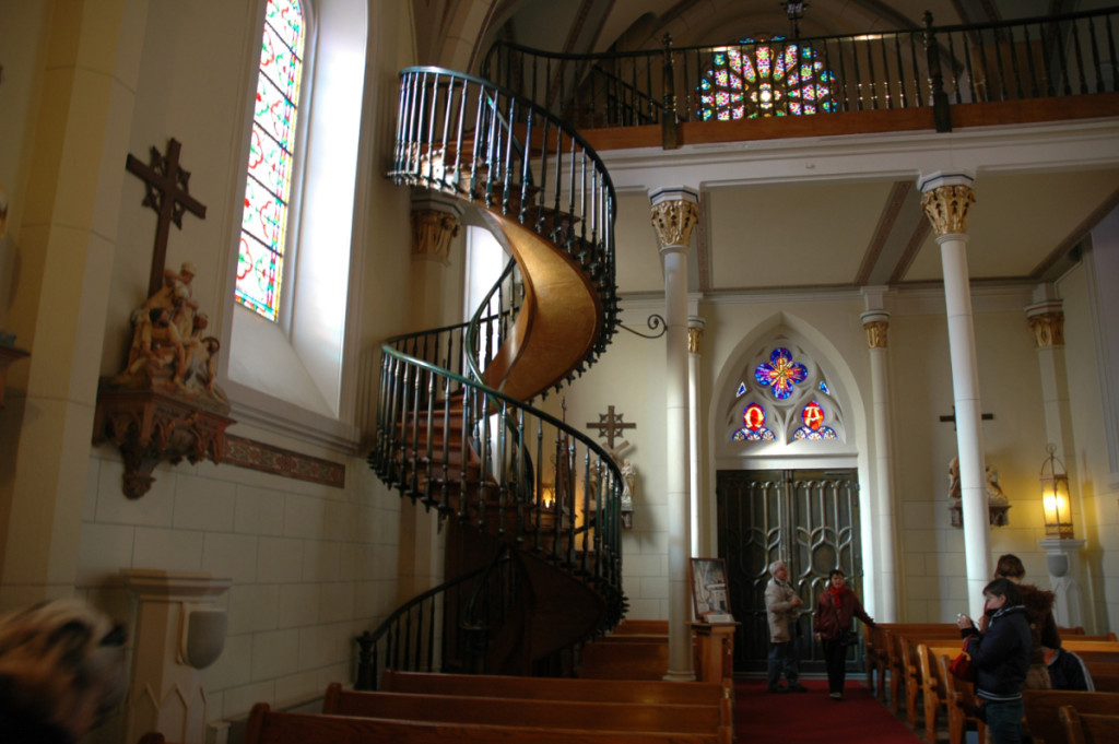 The staircase Saint Joseph built in New Mexico